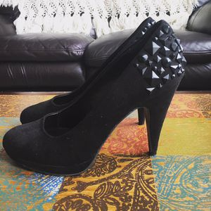 Sexy Black Studded Heals for Sale in Denver, CO
