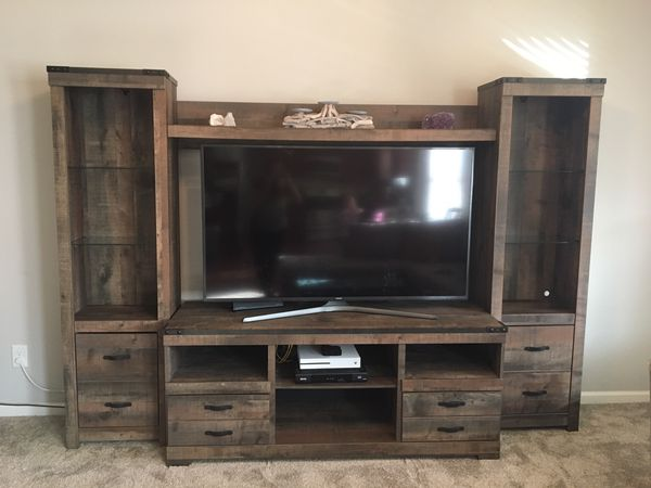 Ashley Furniture Entertainment Center For Sale In Cumming Ga Offerup