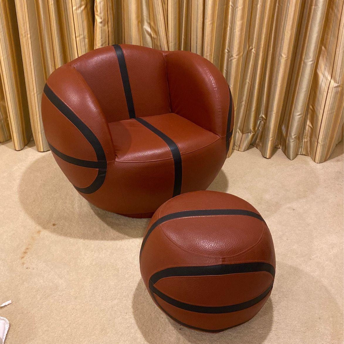 All Star 2-Piece Chair & Ottoman
