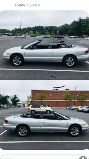 2000 CHRYSLER SEBRING LIMITED ( NO LOW BALLERS ) for Sale in Silver Spring, MD