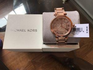 Brand new Michael kors watch in rose gold...price is firm for Sale in Glen Allen, VA