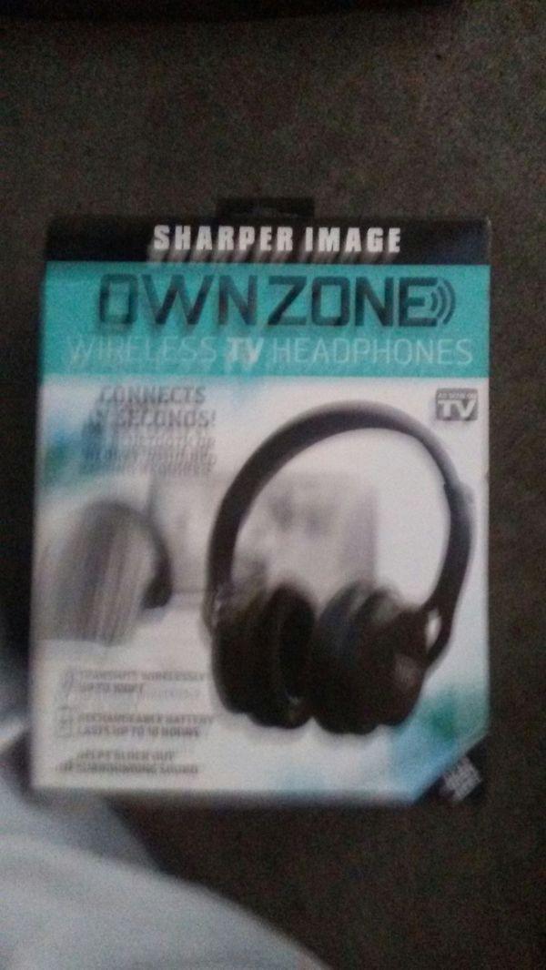 Sharper Image Own Zone Wireless Tv Headphones For Sale In Portland