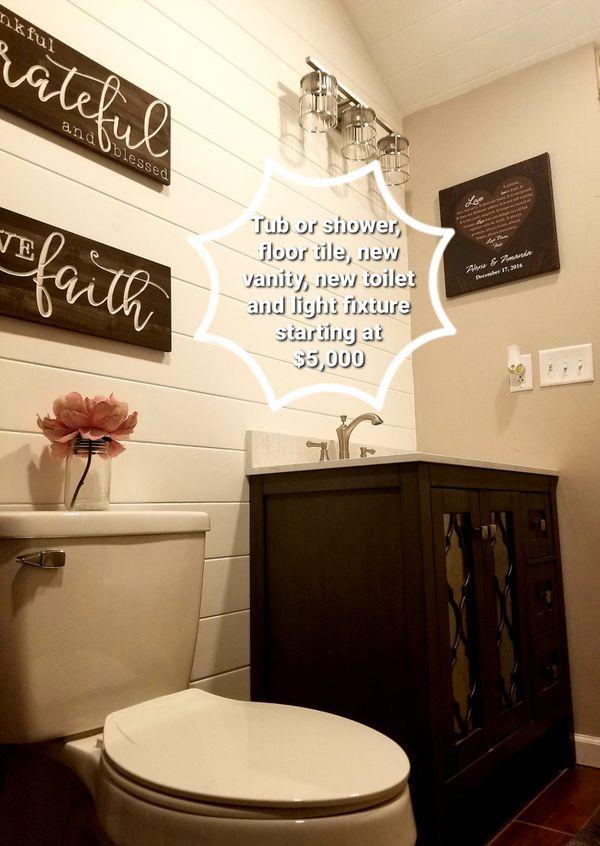 Bathroom Remodel for Sale in Jacksonville, FL - OfferUp