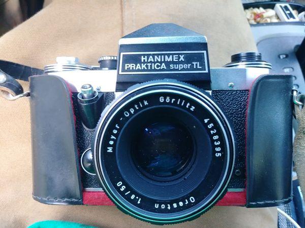 Mm praktica super tl m slr camera cased