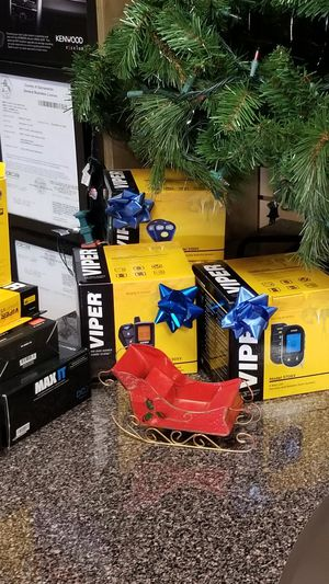 Come on down to West Coast Car Audio 2409 Arden Way we have Viper remote start alarms starting at $199 and up. for Sale in Sacramento, CA