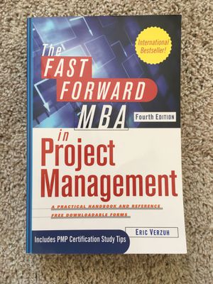 MBA in Project Management Book for Sale in Ashburn, VA