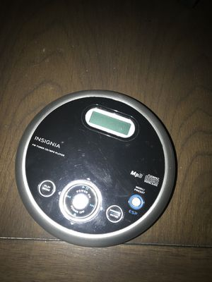 Insignia portable CD player for Sale in Frederick, MD
