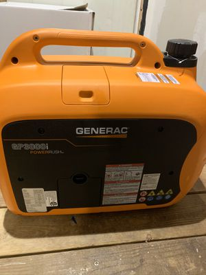 Photo 3000 watt generator quiet Generac