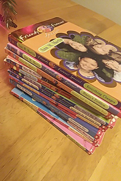 10 Baby sitters club books