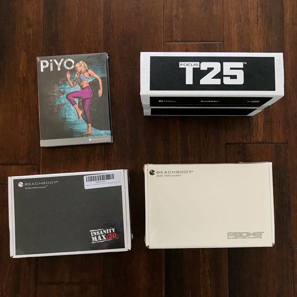 Workouts/PiYo/Insanity Max 30/ T25/P90X3/ all originals by Beachbody/Brand  New/ Price is listed down