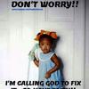 God favored