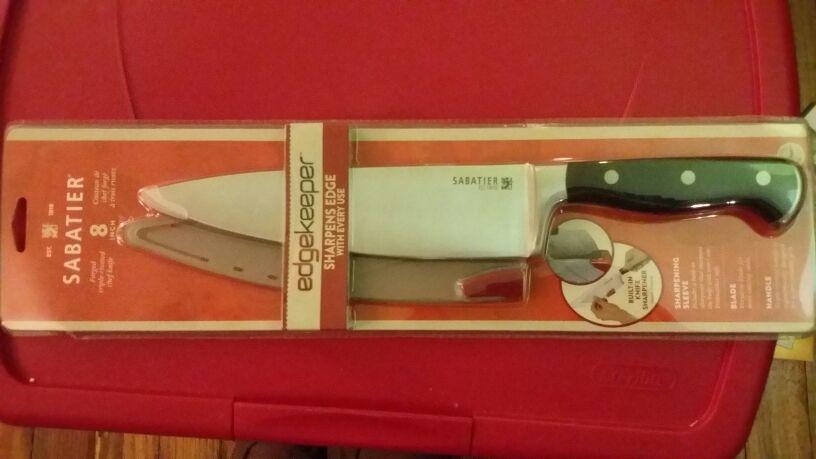 """Sabatier 8"""" knife"""