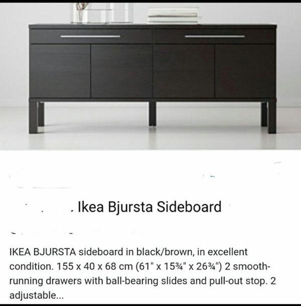 Ikea Bjursta Sideboard For Sale In Phoenix Az Offerup