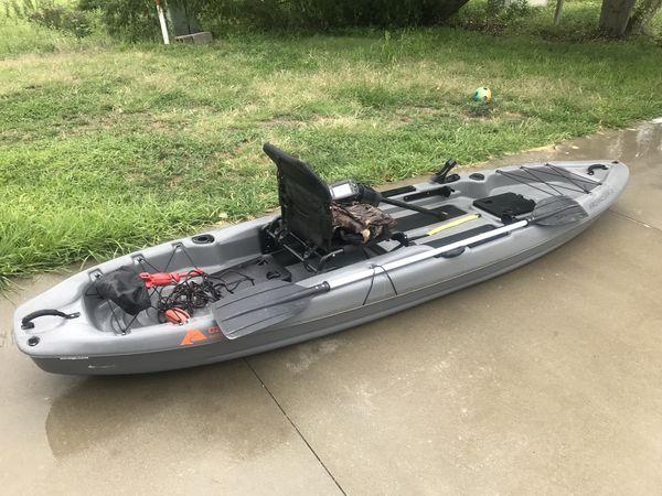 Ozark Trails Angler Kayak 12 Sun Dolphin Boss 12 Ss