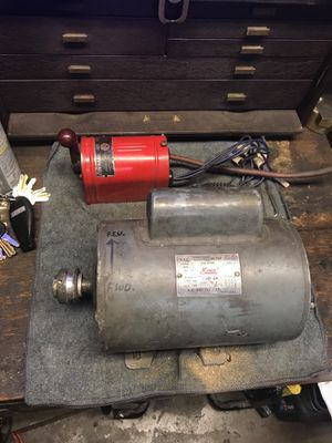 King 1 HP motor W/ forward & reverse & switch for Sale in Anaheim, CA