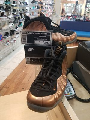 Nike Air Foamposite One Copper Size 8.5 for Sale in Silver Spring, MD