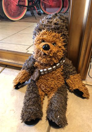 STAR WARS CHEWBACCA Build A Bear 21 Inch Stuffed Toy Doll Collectable Soft Bear for Sale in Gilbert, AZ