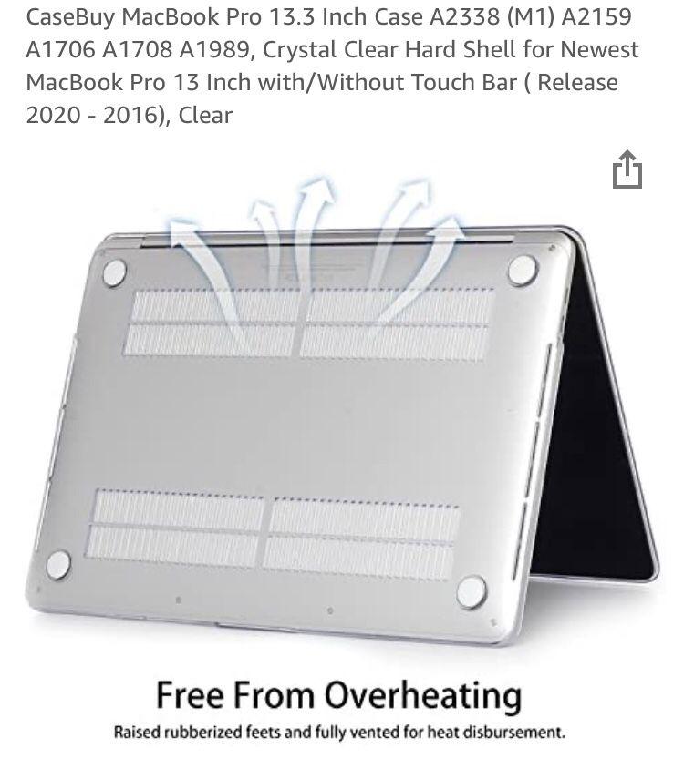 $20 - Mac Pro 13.3 Clear Case 2020 Model