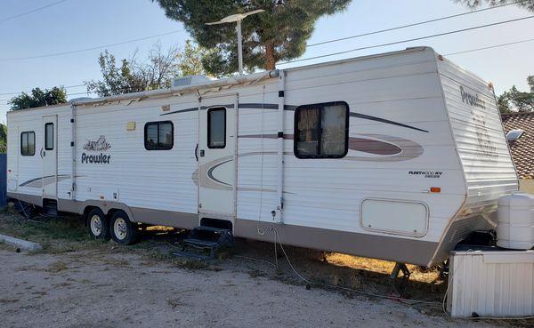 rare 2 bedroom park model 40 foot travel trailer for sale