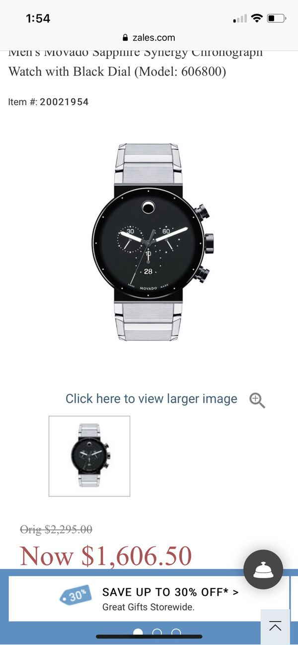 Movado synergy chronograph..immaculate condition for Sale in Saint ... 7d8027571