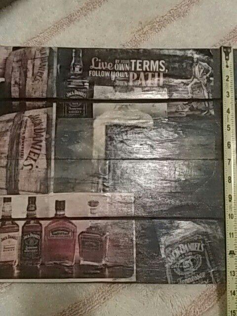 Jack Daniels wall art (Household) in Taylor, PA - OfferUp