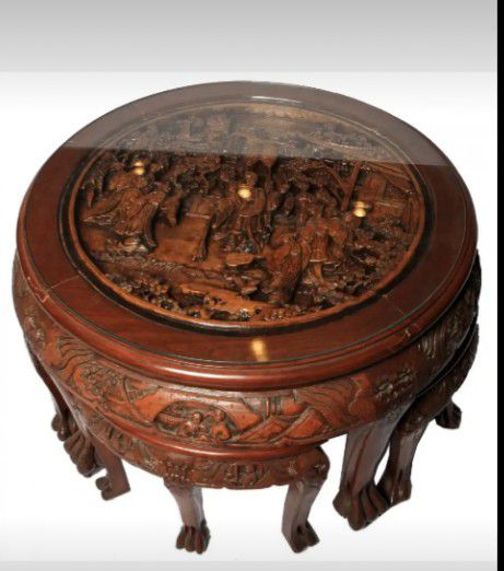 Chinese Tea Table Stools