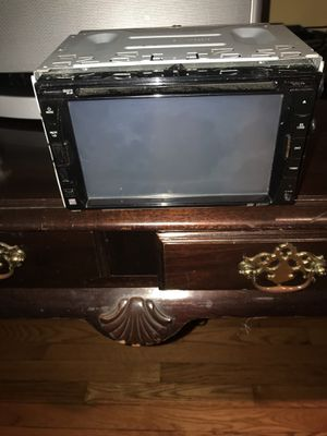 Dual Double Din Car touchscreen stereo w DVD slot . Excellent working condition !! DVD + CD / USB / Mini SD !! for Sale in Rockville, MD