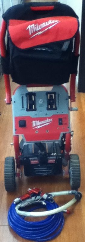 Milwaukee M4910 20 Airless Finish Paint Sprayer For Sale In Redlands