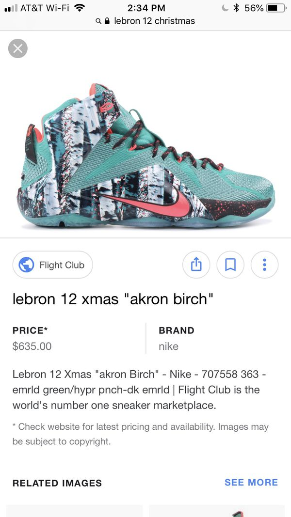 5f0f5816f0ca 2d2fc 80f5f  uk lebron 12 size 9.5 xmas clothing shoes in san leandro ca  offerup 2ad0d 9b25d