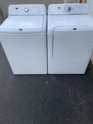 MAYTAG Washer and dryer good condition for Sale in Sterling, VA