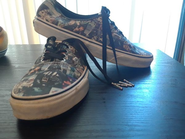 Limited edition star wars vans size 10 for Sale in Loma Linda 5dc9e91bc