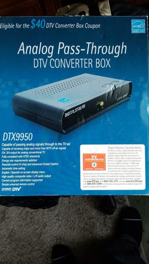 DTV converter box for Sale in San Diego, CA