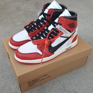 Jordan 1 Off White Chicago for Sale in San Diego, CA