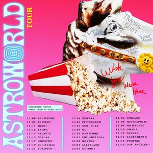 Travis Scott Astroworld Wish You Were Here Tour for Sale in Rockville, MD