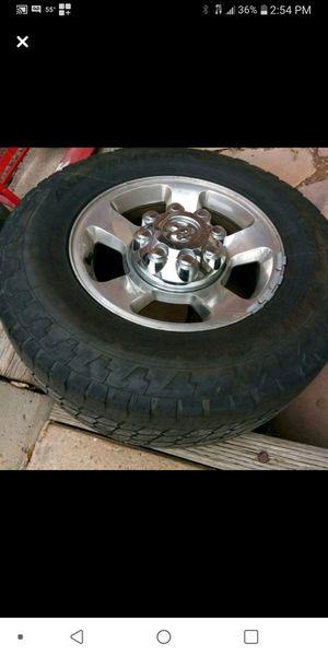 Photo Dodge rims 8 lug for a 2500 or 3500