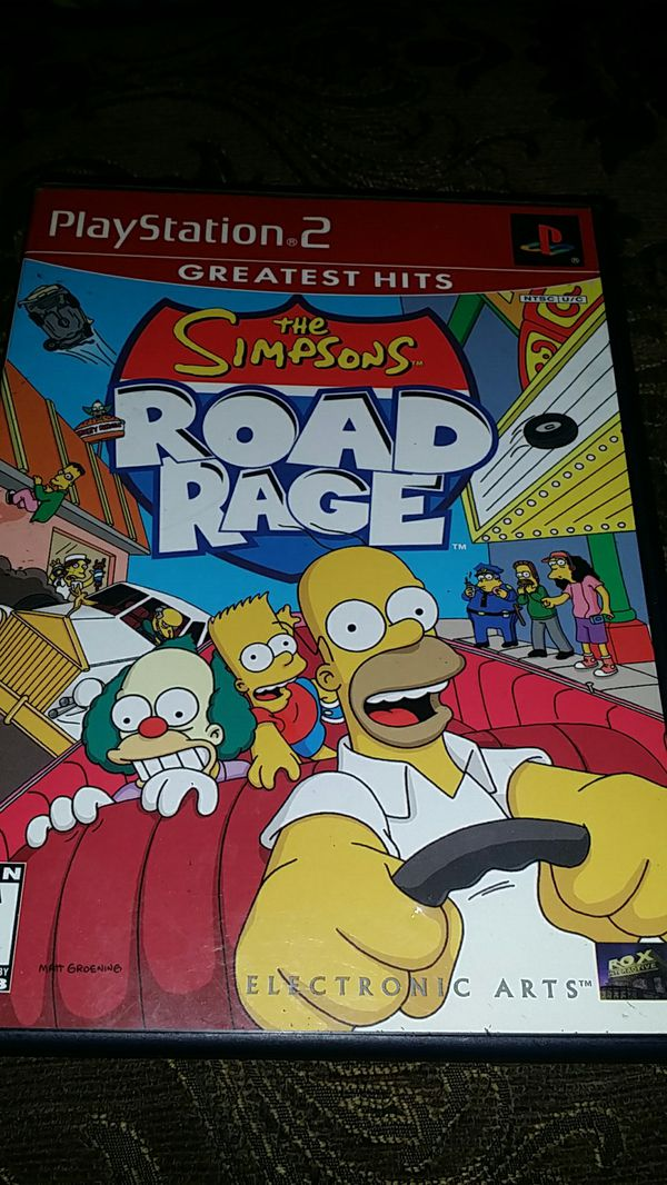 The ROAD RAGE ps2 game for Sale in El Cajon, CA - OfferUp
