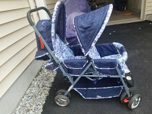 Baby double stoller for Sale in Ashburn, VA