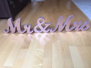 Rose gold wedding decor for Sale in Portland, OR