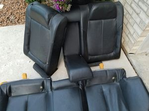 Leather seats from Lexus rear Toyota front for Sale in Chicago, IL