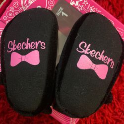 Baby Girl Skechers Shoes Size 1 New In Box Thumbnail