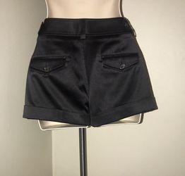 New Express black silk shorts for sale !!! Thumbnail