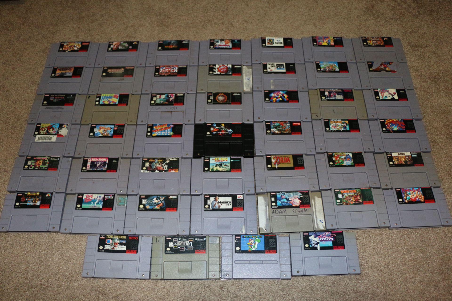 Super Nintendo Bundle Pack