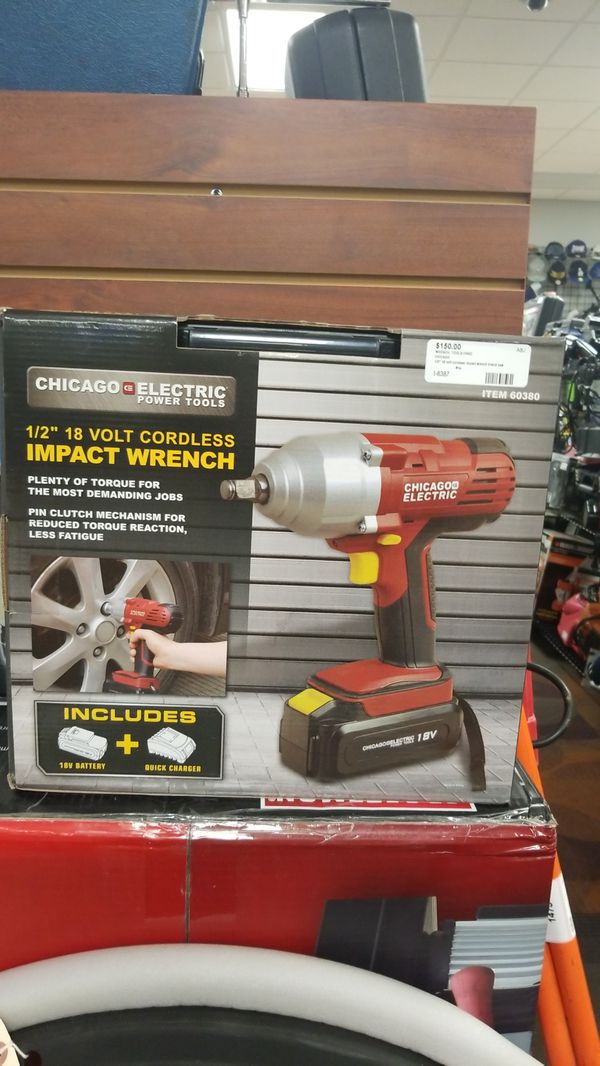 Chicago Electric Cordless Impact Drill Tools Machinery In Newport News Va Offerup