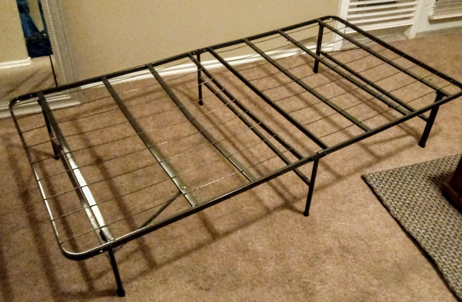 Long twin. Bed frame