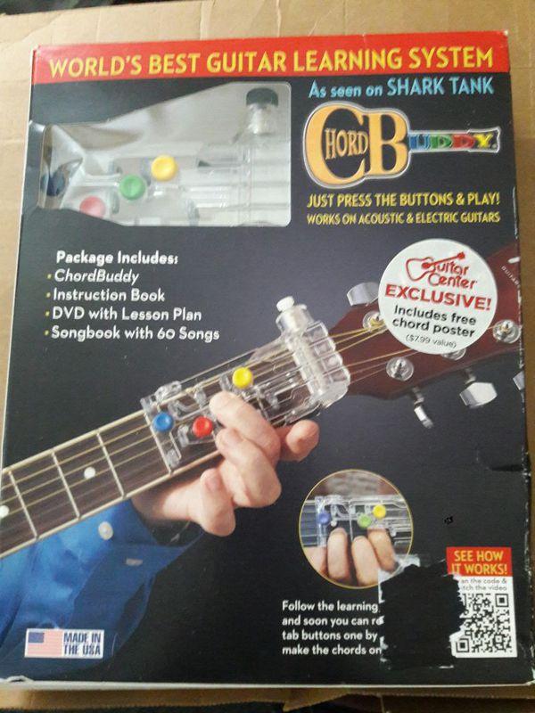 Chordbuddy Guitar Learning System For Sale In North Attleborough Ma