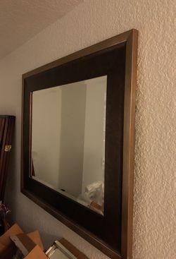37 1/2 x 31 1/2 hanging mirror Thumbnail