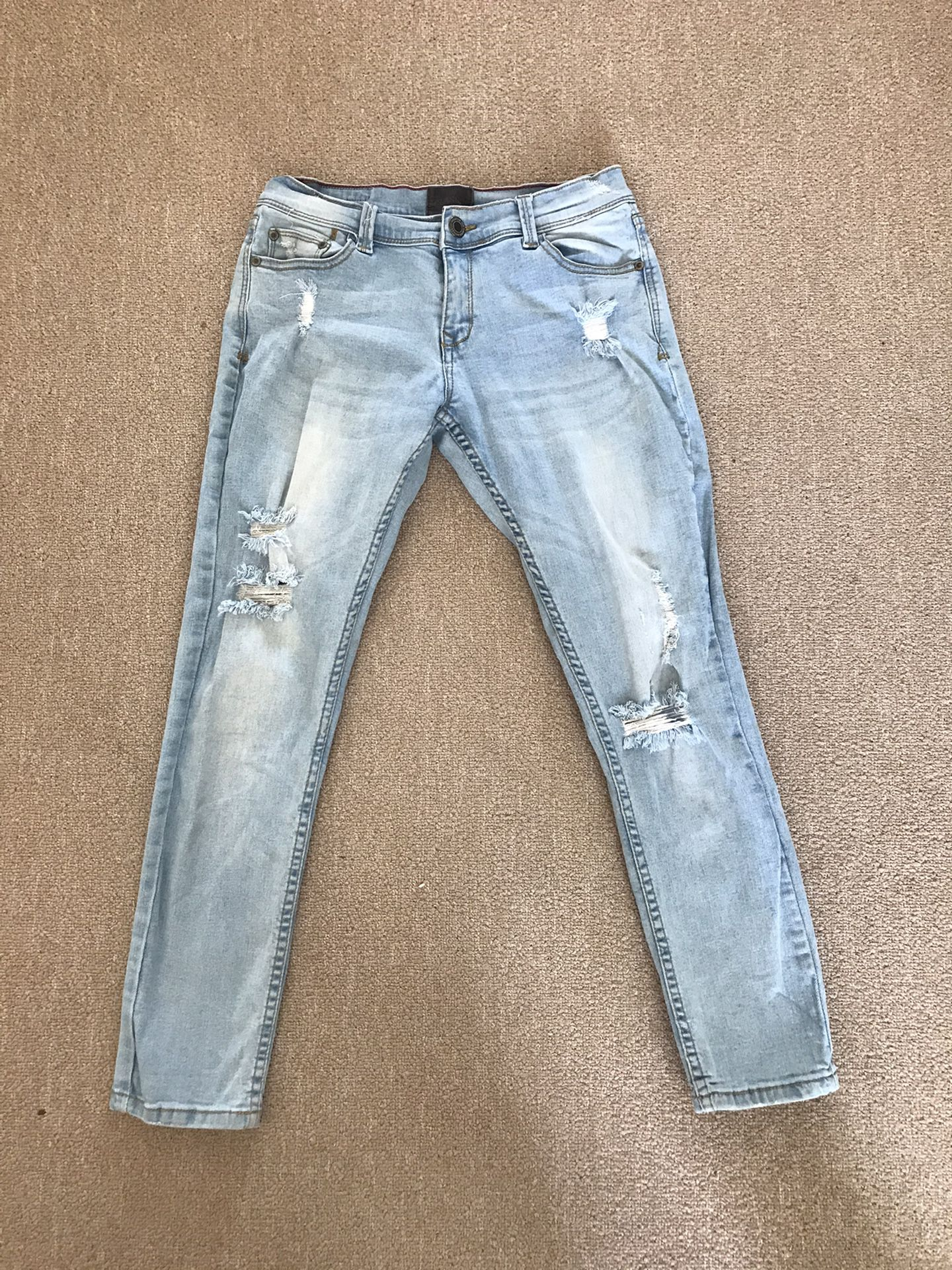 Size 3 Denim Ripped Jeans