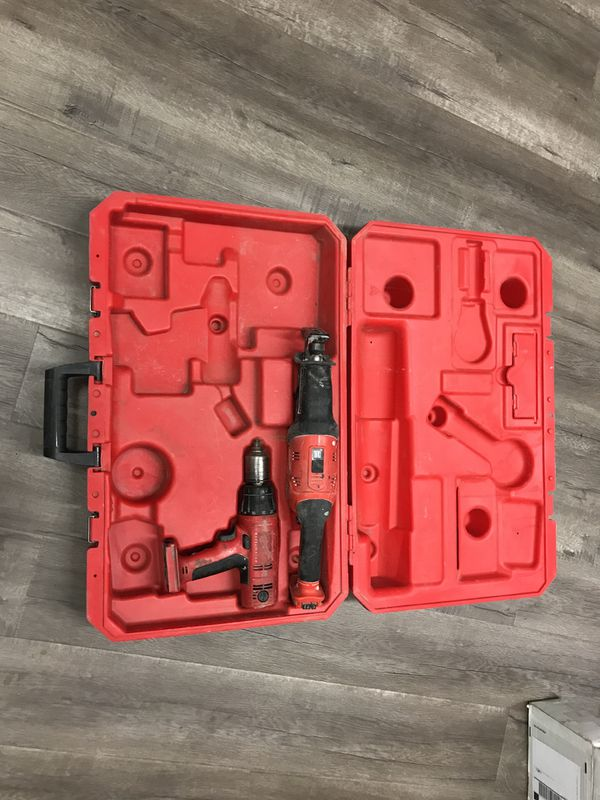 Milwaukee 18V Hatchet Sawzall and Drill with Case - No Charger - No  Batteries for Sale in Los Angeles, CA - OfferUp