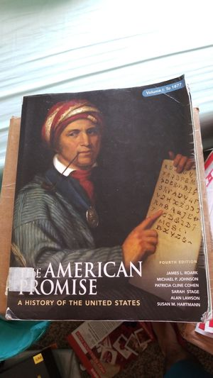 The American Promise, Volume I: To 1877: A History of the United States for Sale in Austin, TX