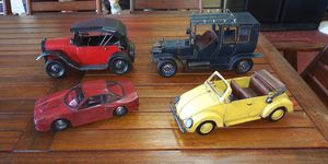 Antique Vintage Decor Metal Cars for Sale in Deltona, FL
